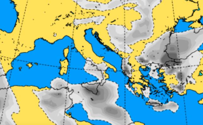 Ancora instabilità meteorologica sulla Sicilia: domani pioggia e temperature in calo