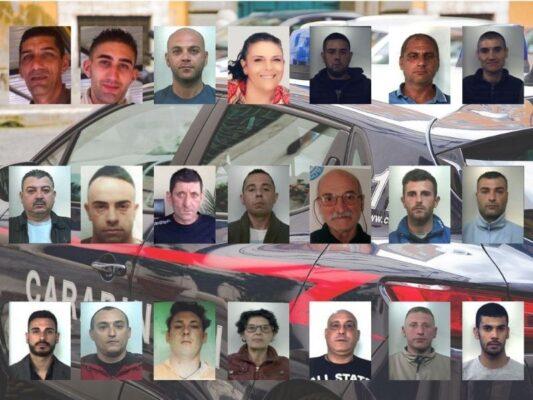 """Operazione """"Iddu"""", ecco chi sono i 21 arrestati legati al clan catanese Santapaola-Ercolano"""