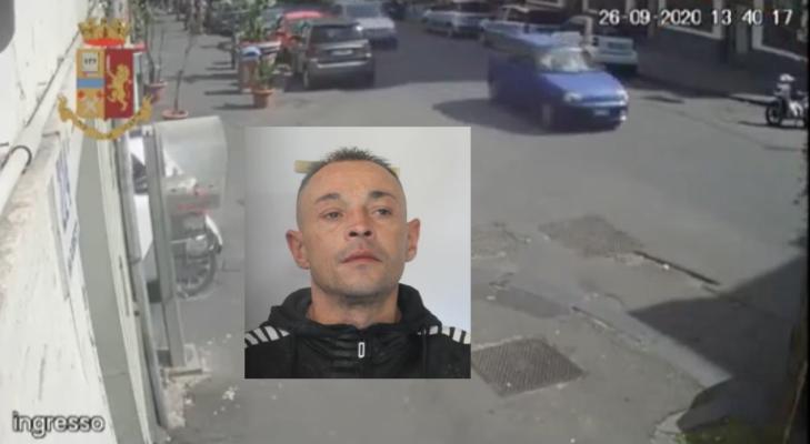 Rapina un'anziana signora e la manda in ospedale: arrestato il catanese Mario Munzone – FOTO, VIDEO, DETTAGLI