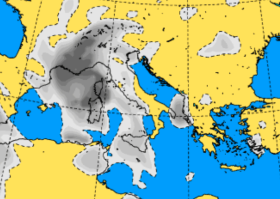 Assaggi di autunno in Sicilia: ancora piogge e temperature massime in diminuzione