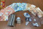 Spacciava cocaina e oltre 3mila euro in contanti: in manette 32enne