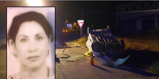 Incidente mortale sulla SP 64, 53enne perde il controllo dell'auto e si ribalta ripetutamente