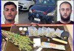 Battuto palmo a palmo il quartiere San Cristoforo: due le persone arrestate. Sequestrati droga e denaro