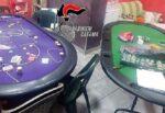 Parrucchiere del Catanese usa il giorno libero per trasformare il negozio in una bisca clandestina: 18 denunce