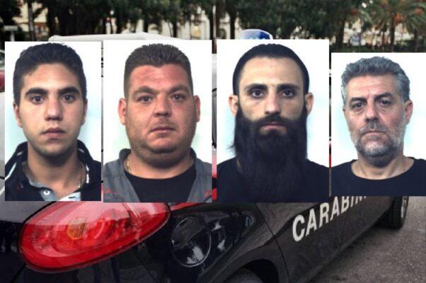 Inseguimento nel Catanese, 4 soggetti in manette dopo il furto di 18 bovini – NOMI e FOTO