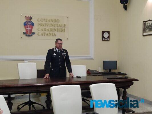 Catania, il comandante dei carabinieri Covetti lascia l'incarico: un incontro per ricordare i progressi fatti in città – VIDEO