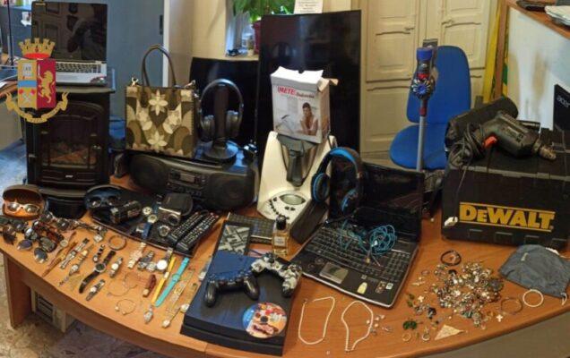 Ladro seriale specializzato in furti in villa, beni preziosi trovati in casa e sequestrati – FOTO