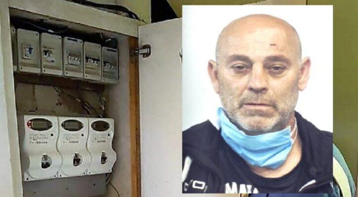 Allaccio abusivo nel Catanese, arrestato 54enne: ha rubato elettricità per un totale di 10mila euro