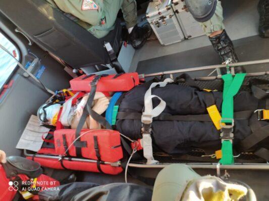 Militare tedesco 18enne cade da tre metri, soccorso a largo di Ustica dalla Guardia Costiera di Catania – FOTO