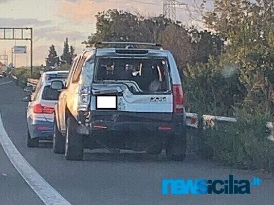 Tangenziale di Catania, incidente altezza uscita per San Giorgio: ecco cosa sta accadendo