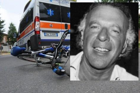 Malore fatale in bici, Saro Calabrò batte la testa sull'asfalto e muore sul colpo