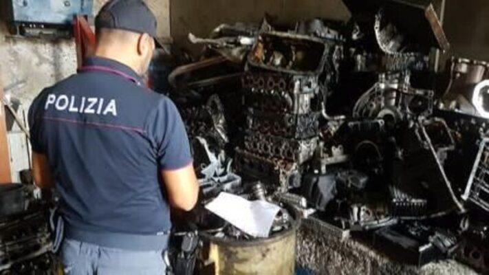Zia Lisa, meccanico butta scarti di ferro non bonificato: denunciato, il danno ambientale è grave