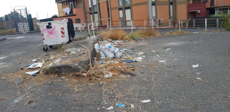 """Quartiere di Trappeto Nord nel degrado, Zingale (IV Municipio): """"Occorrono periodici lavori di pulizia"""""""