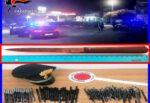 Controlli nel Catanese, dall'incidente causato al possesso di un arma: diverse denunce