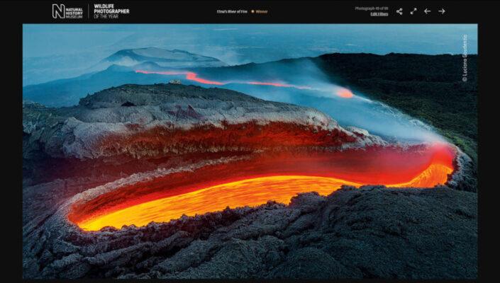 Fotografo veneto vince il premio di fotografia più prestigioso al mondo: Etna protagonista dello scatto