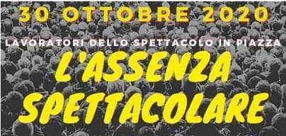 protesta ottobre spettacolo artisti