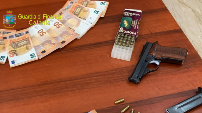 droga armi finanza catania