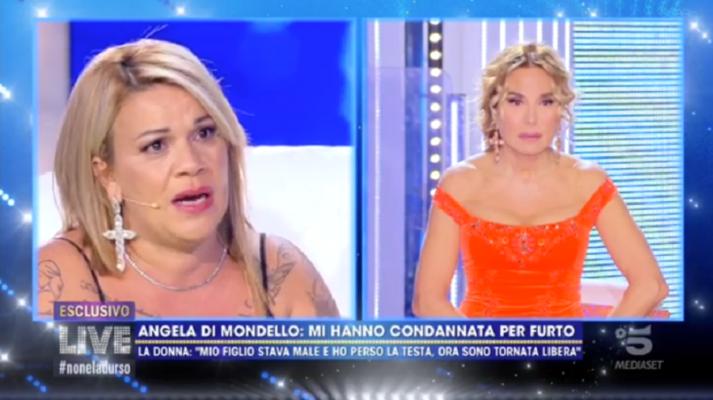 """Angela da Mondello e la perdita del figlio: """"Sono stata condannata per furto, volevo pagare il funerale"""""""