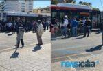 Emergenza Coronavirus a Catania, i cittadini continuano a non capire: zero distanziamento e autobus affollati