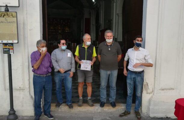 Da Udine alla Sicilia a piedi, la STORIA di Elio Brusamento: un incredibile viaggio di sensibilizzazione