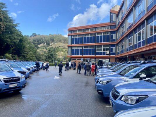 """Consorzio autostrade siciliane consegna 22 auto alla polizia stradale, assessore Falcone: """"Salto di qualità"""""""