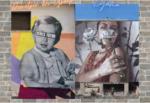 """Muri come """"tele bianche"""", la street art a Catania raccontata da Demetrio Di Grado e Ligama – FOTO"""