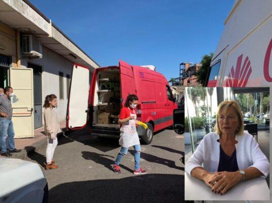 """IPSSEOA""""Karol Wojtyla"""", la generosità è un valore importante: donati generi alimentari alla Caritas di Catania"""