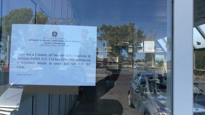 Catania, controlli anti Covid: chiuso bar che non rispetta il provvedimento imposto – FOTO