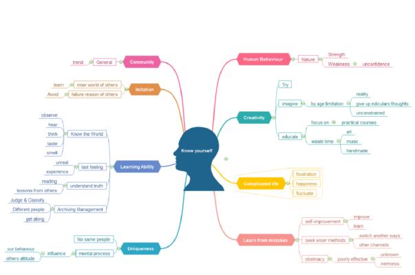 Mappe mentali e Mind Master: come creare rappresentazioni grafiche del pensier