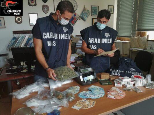 Marijuana al posto della cannabis light in un grow shop di Catania: arrestato il titolare