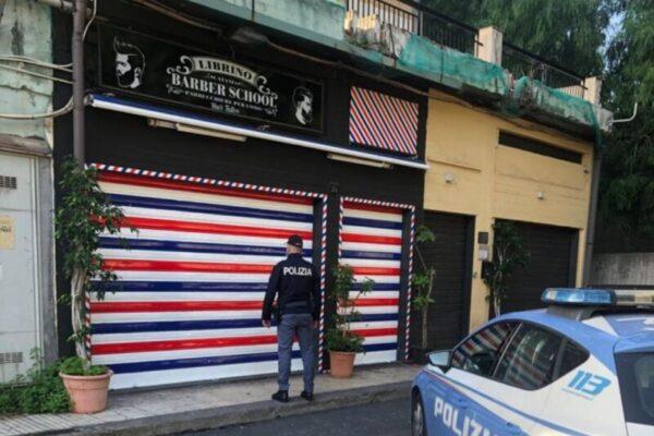 Controlli anti-Covid, chiuso a Librino un noto barbiere: titolare, dipendenti e clienti sanzionati