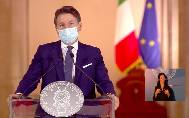"""Dpcm del 18 ottobre, Conte annuncia le nuove misure in diretta: """"Non possiamo perdere tempo"""" – DETTAGLI e VIDEO"""