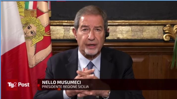 """Covid e Dpcm, Musumeci in aiuto dei siciliani: """"Chiederò a Roma una deroga per ristoranti, teatri e cinema"""""""