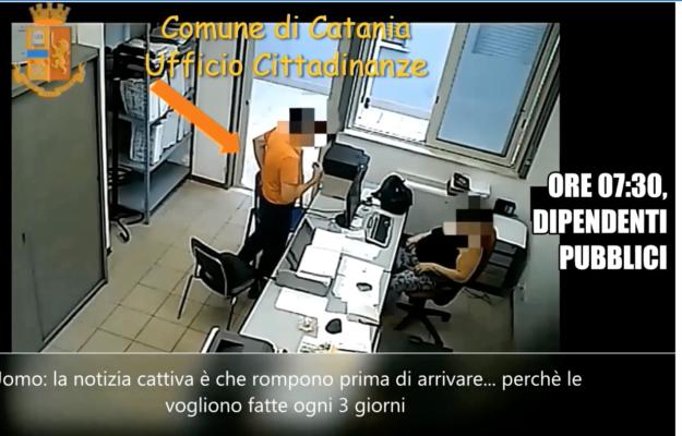 """Catania, operazione """"Tudo incluido"""" in corso: impiegati del Comune etneo favorivano immigrati"""