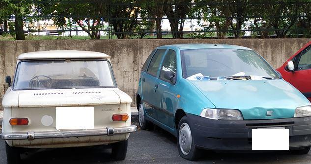 Catania, nel quartiere Borgo-Sanzio sempre più veicoli abbandonati. La segnalazione del Comitato Cittadino Vulcania – FOTO