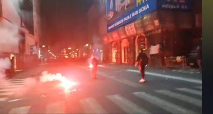 """Catania contro Dpcm: """"Protesta pacifica rovinata da un gruppetto di violenti"""", la testimonianza di Pietro Crisafulli"""