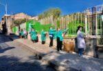 """Liceo Spedalieri, in azione la """"squadra verde"""" nell'istituto di Catania: una rinfrescata alla struttura"""