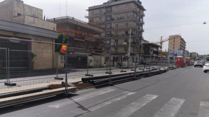 """Tra Giro D'Italia e cantiere, è caos al Viale Mario Rapisardi. Parisi: """"Serve un piano del traffico alternativo"""""""