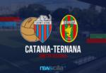 L'ex Lucarelli ingabbia il Catania di Raffaele, a Lentini finisce 1-3 per la Ternana – RIVIVI LA CRONACA