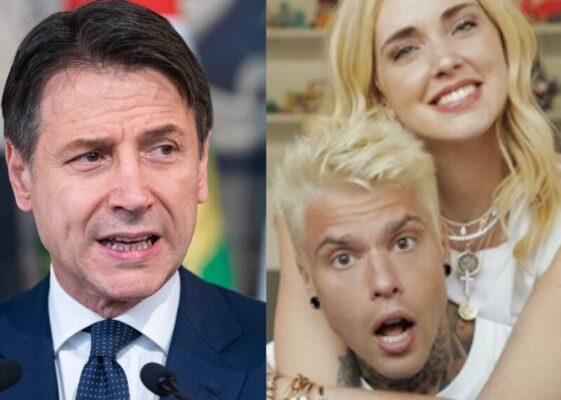 L'Italia rischia un nuovo lockdown… Conte chiede aiuto a Chiara Ferragni e Fedez