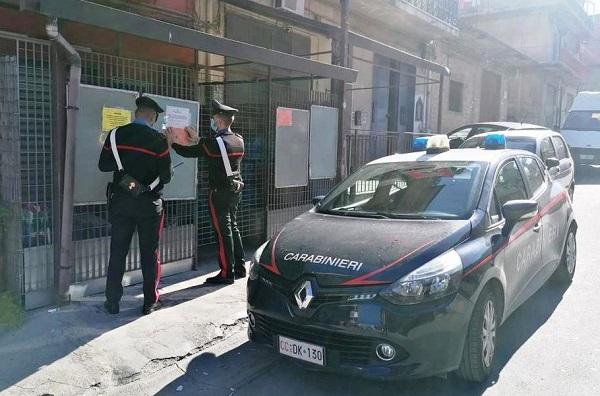 Violazione delle regole anti-Covid nel Catanese: fioccano le sanzioni e le chiusure delle attività