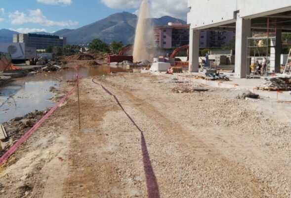 Danni a una conduttura principale di adduzione dell'acqua: la mappa dei disservizi nel Palermitano