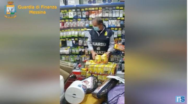 Prodotti non sicuri e contraffatti: sequestrati oltre 40mila articoli segnalati a due imprenditori cinesi – VIDEO