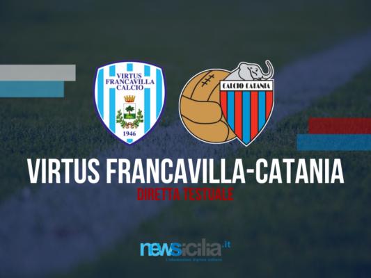 Martinez è un bunker, Sarao su rigore fa volare il Catania: 1-0 alla Virtus Francavilla – RIVIVI LA CRONACA