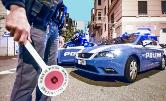 In contromano sulla SS 640, anziano fermato dai poliziotti inveisce e nega i fatti: denunciato