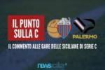 Serie C, weekend dolceamaro per le siciliane: spettacolo a Catania, pareggio amaro a Palermo