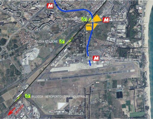 """Catania, la stazione di Fontanarossa verrà integrata con la Metropolitana: """"Grande vantaggio per cittadini"""""""