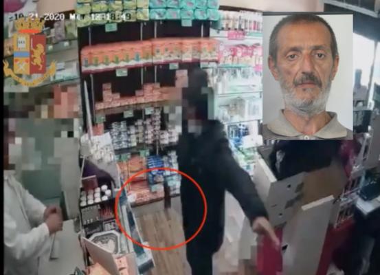 Da giorni svaligiava le casse dei negozi di Catania: fermato con gli indumenti dell'ultima rapina, arrestato