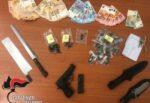 Magazzino con marijuana e armi: ai domiciliari 38enne