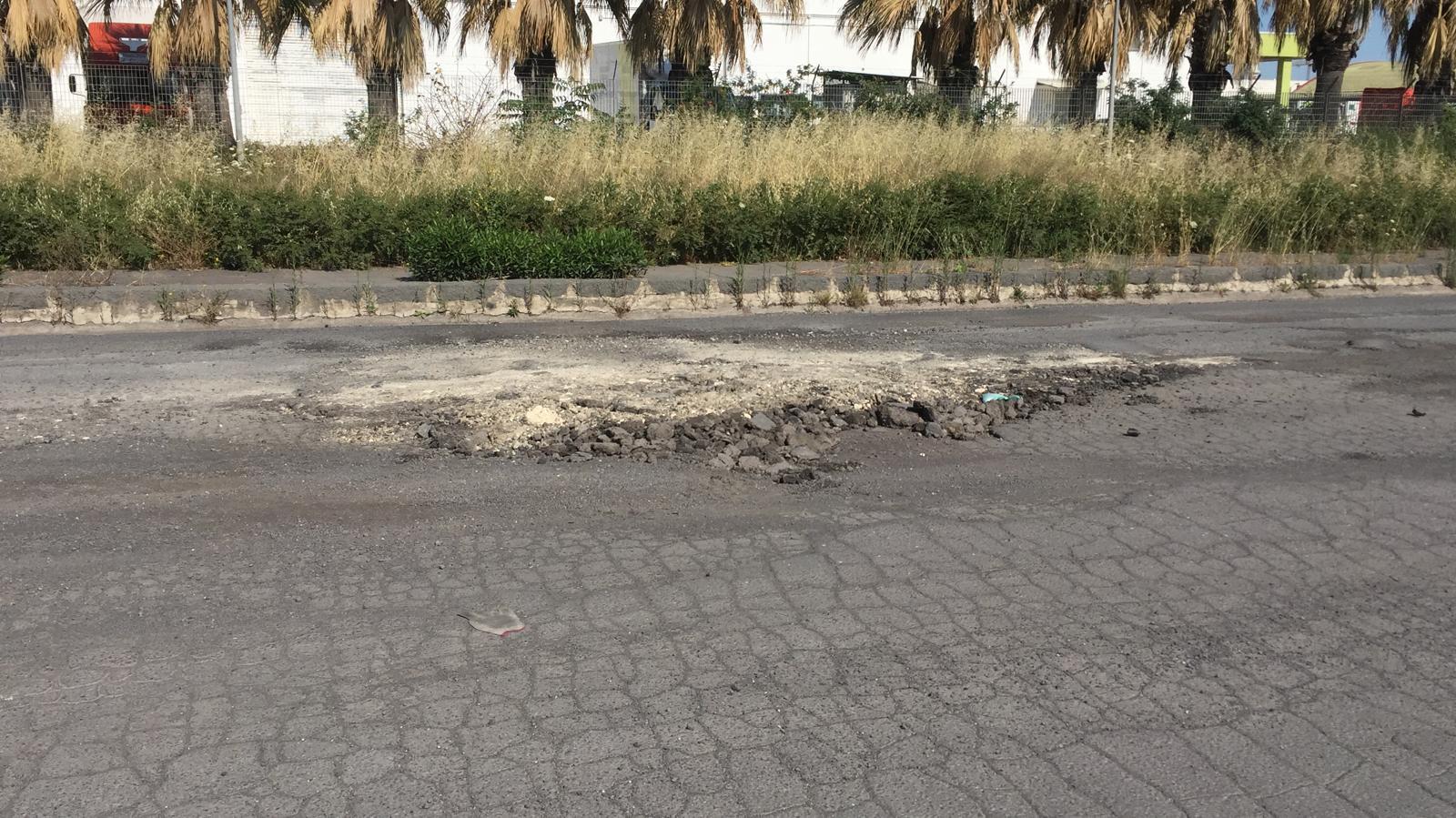 Catania, condizioni critiche del mano stradale alla zona industriale: al via i lavori di ammodernamento di via Filippo Anfuso